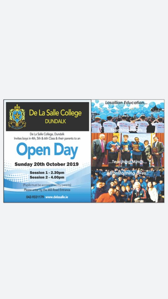 Open Day – Sunday 20th October
